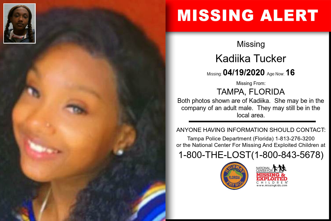 Kadiika_Tucker missing in Florida