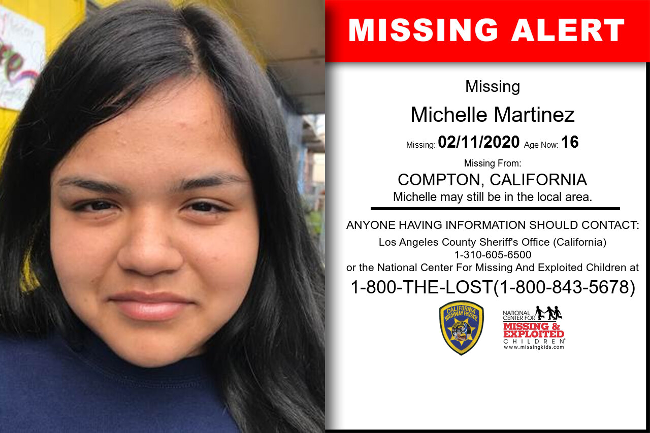 Michelle_Martinez missing in California