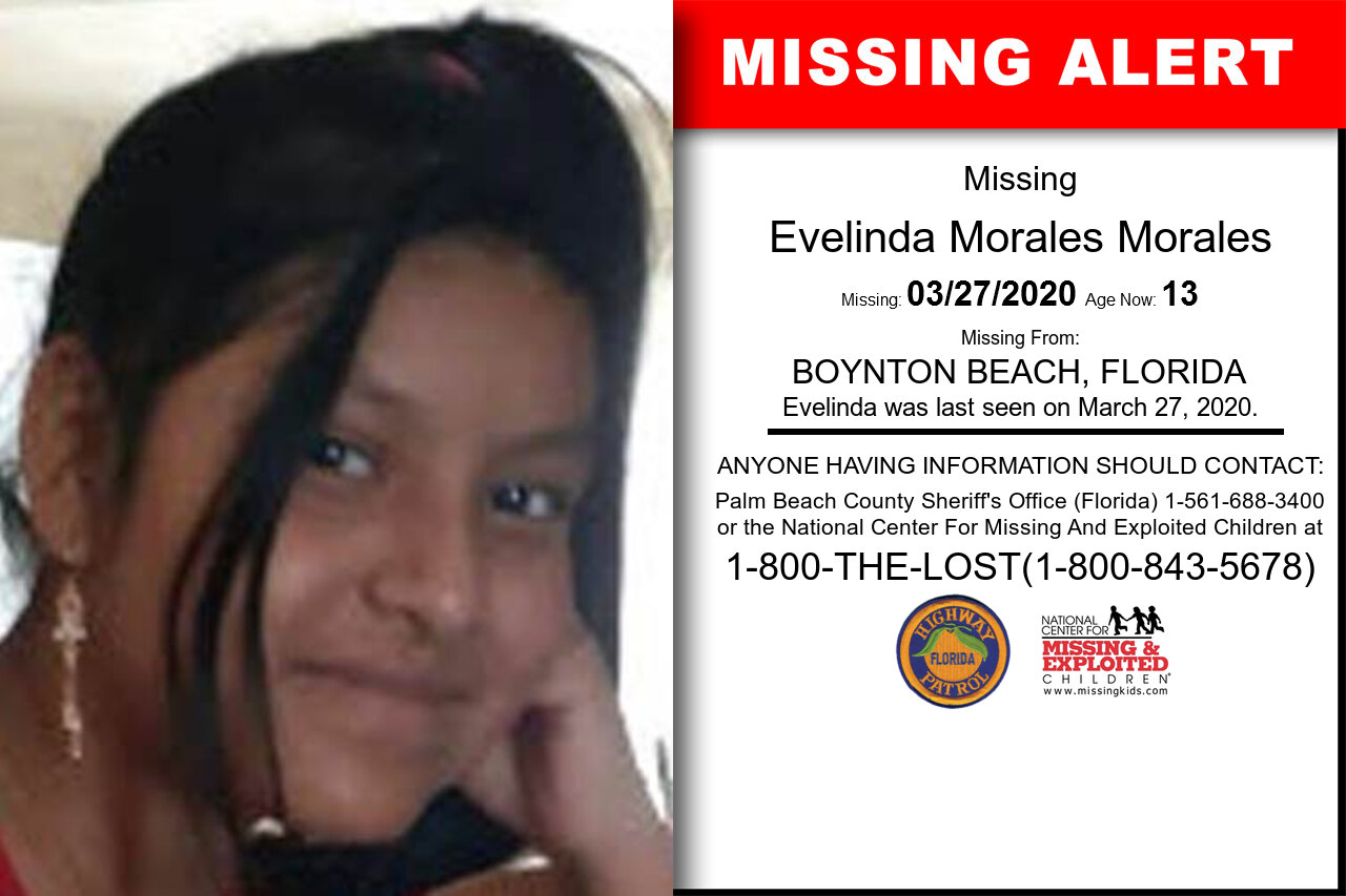 Evelinda_Morales_Morales missing in Florida