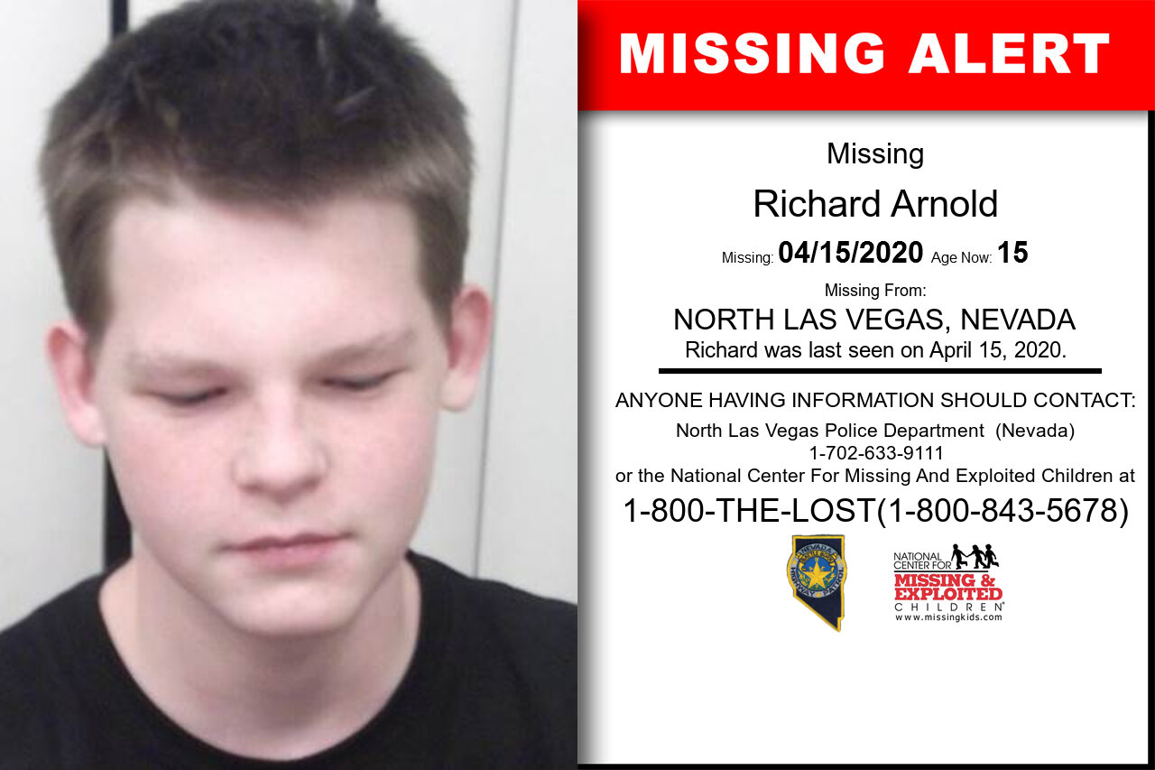 Richard_Arnold missing in Nevada