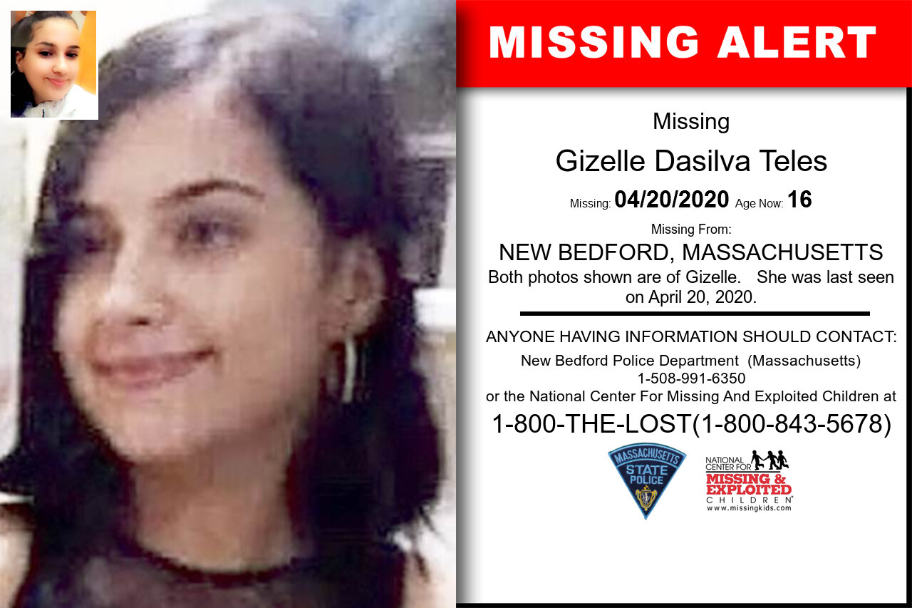 Gizelle_Dasilva_Teles missing in Massachusetts
