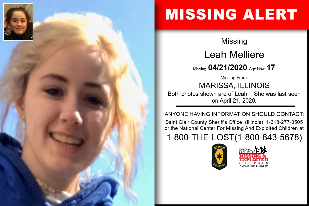 Leah_Melliere missing in Illinois