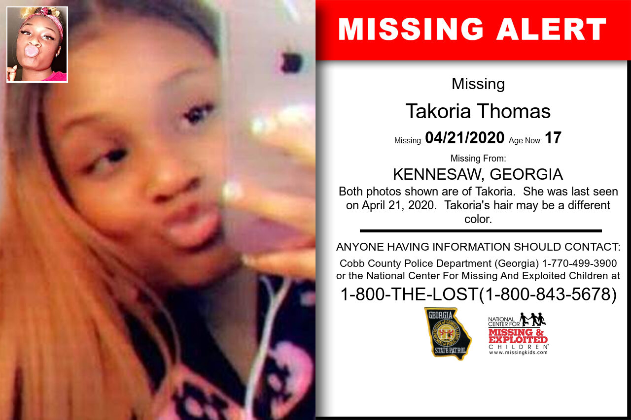 Takoria_Thomas missing in Georgia
