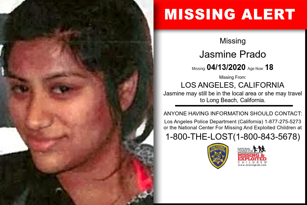 Jasmine_Prado missing in California