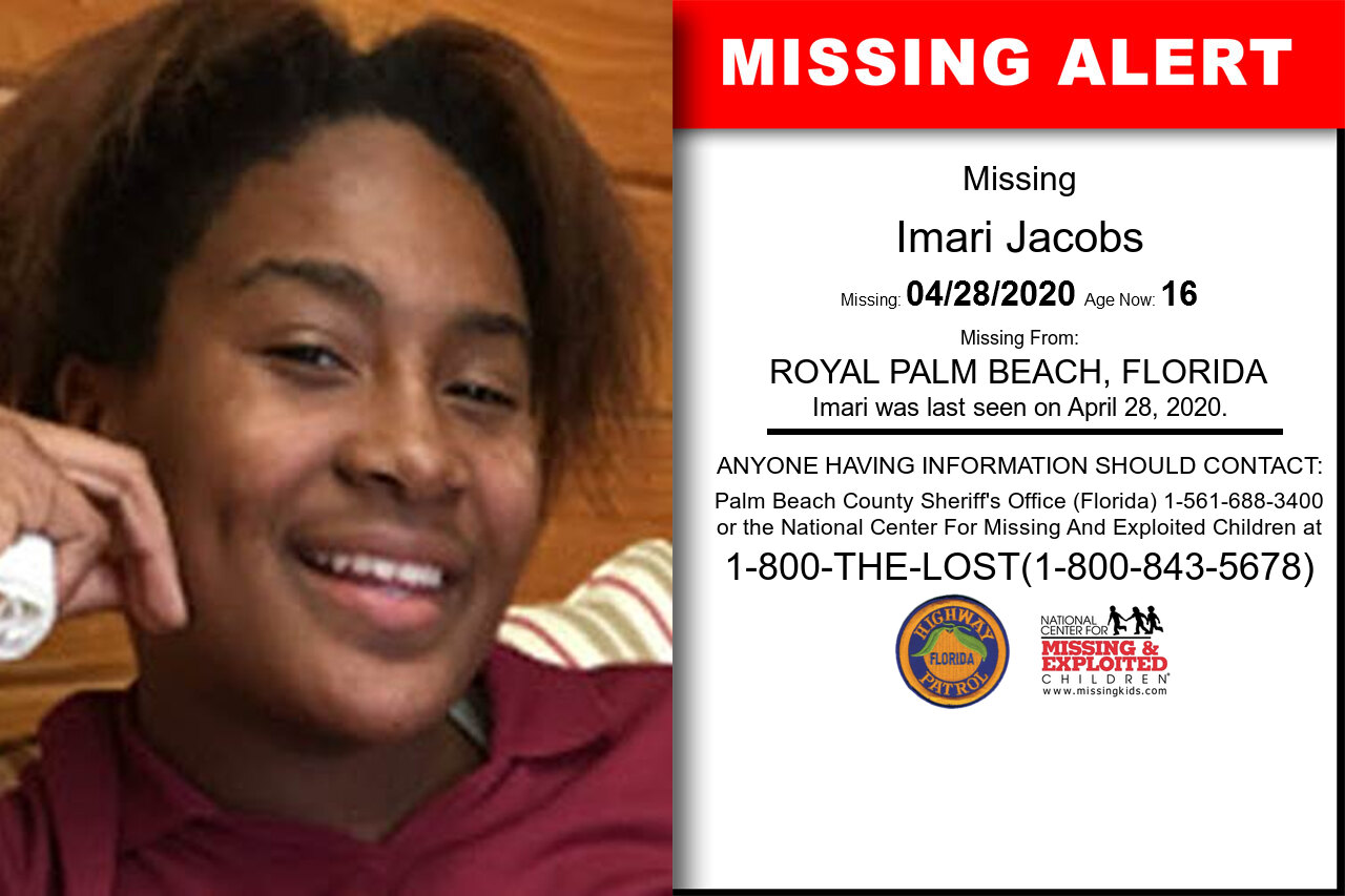 Imari_Jacobs missing in Florida