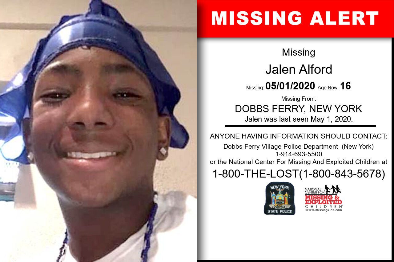 Jalen_Alford missing in New_York