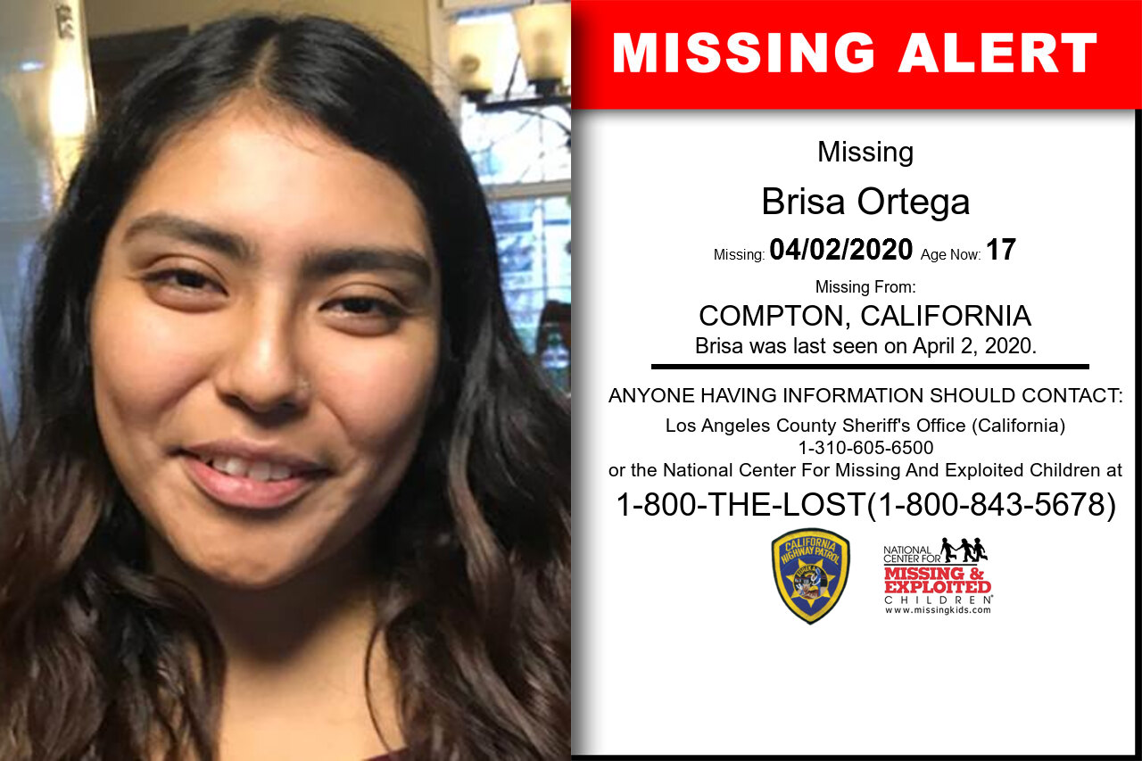 Brisa_Ortega missing in California