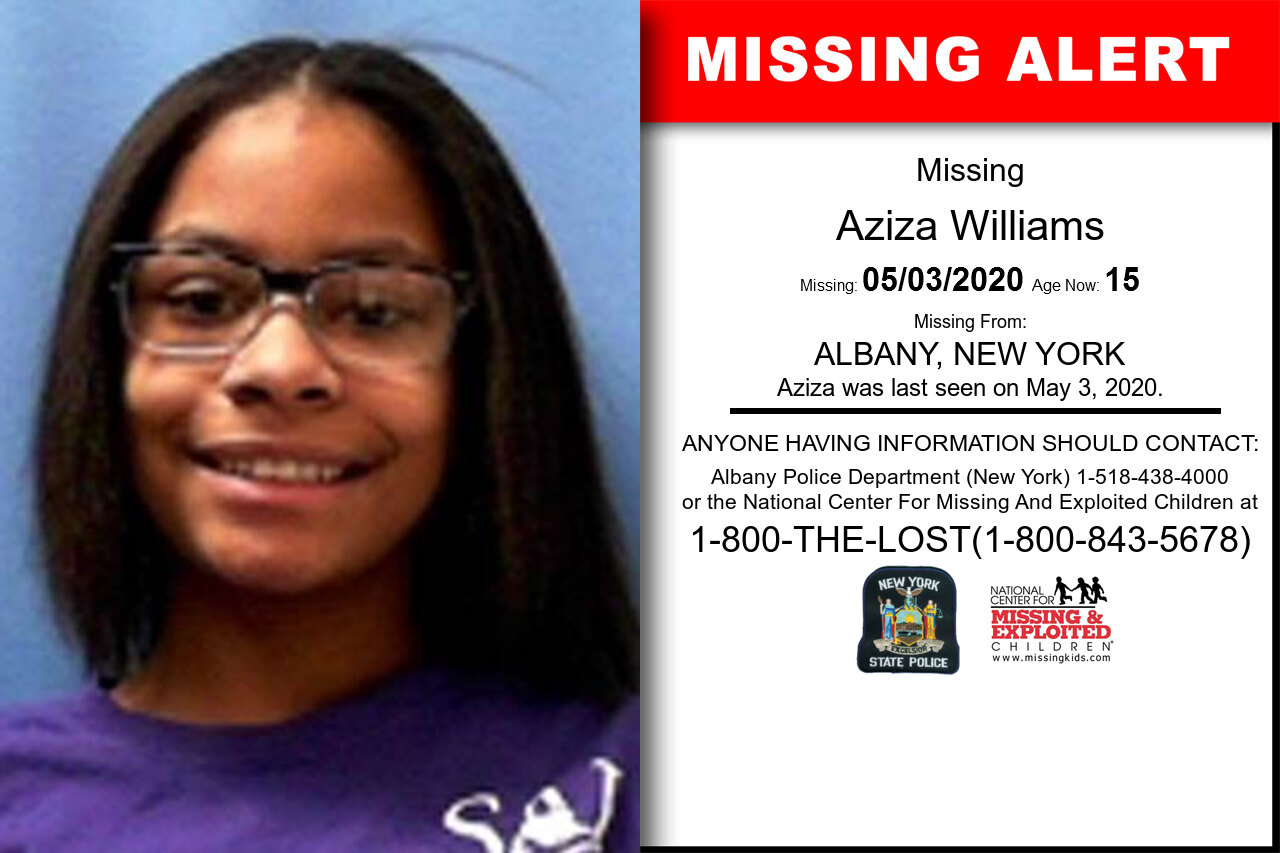 Aziza_Williams missing in New_York