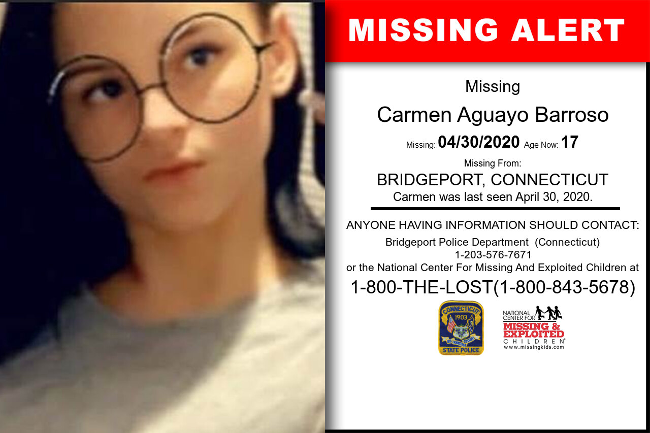 Carmen_Aguayo_Barroso missing in Connecticut