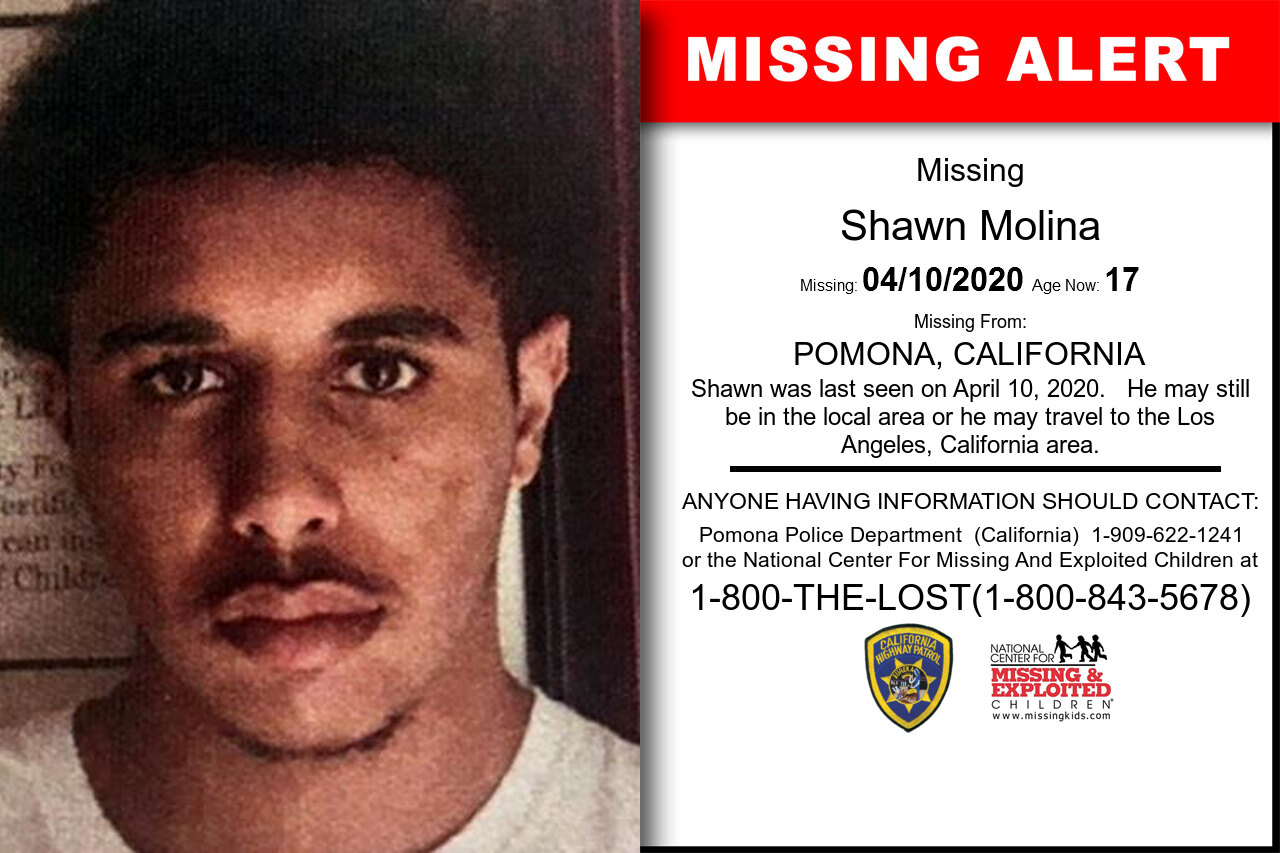 Shawn_Molina missing in California