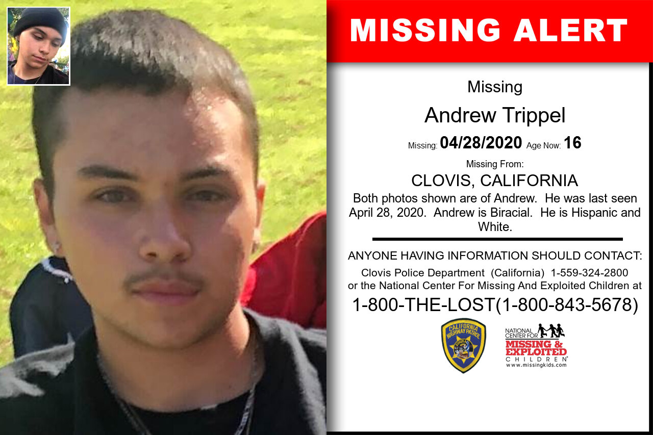 Andrew_Trippel missing in California