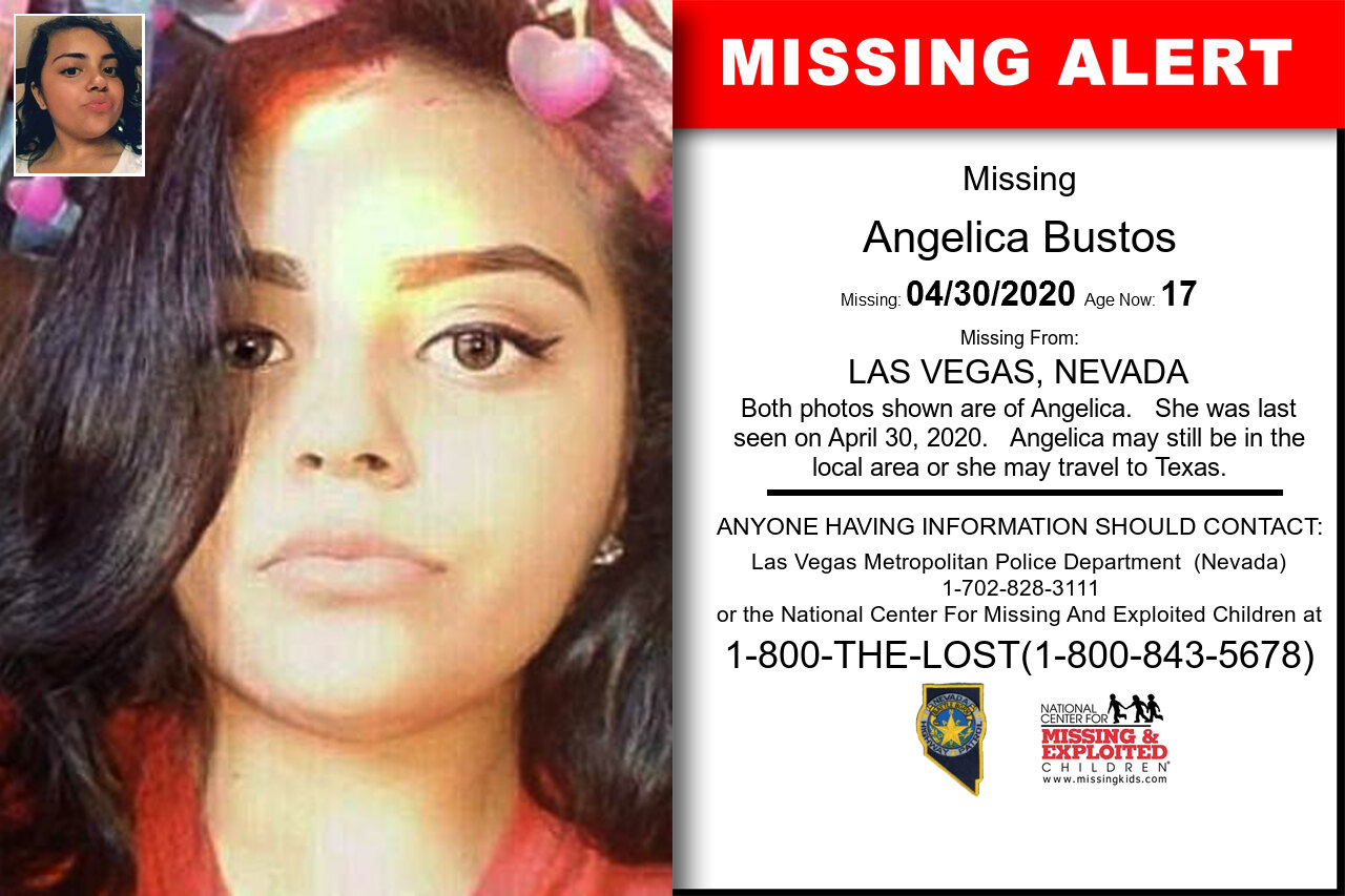 Angelica_Bustos missing in Nevada