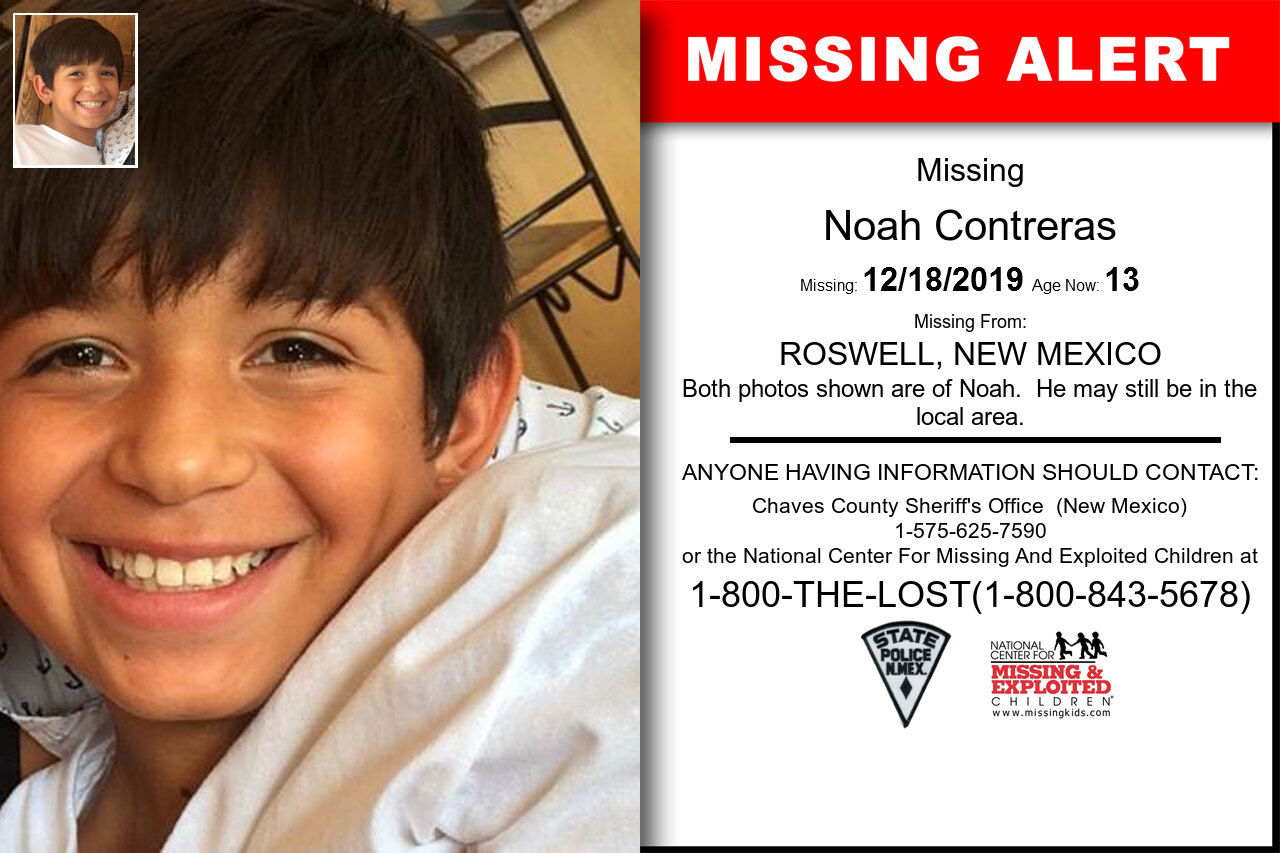 Noah_Contreras missing in New_Mexico