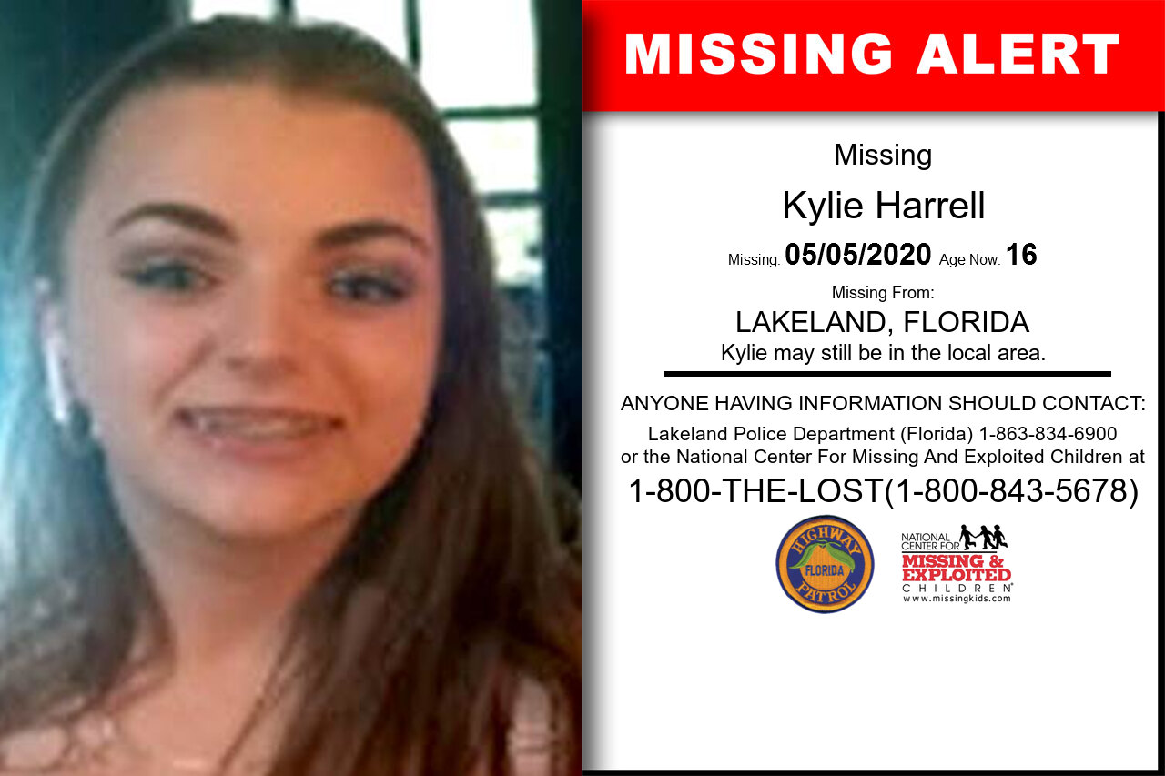 Kylie_Harrell missing in Florida