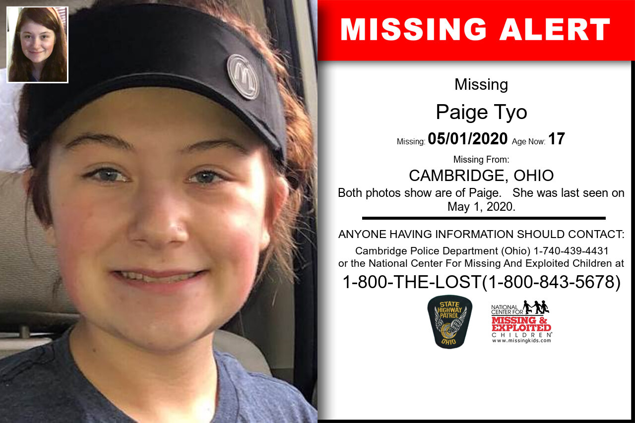Paige_Tyo missing in Ohio