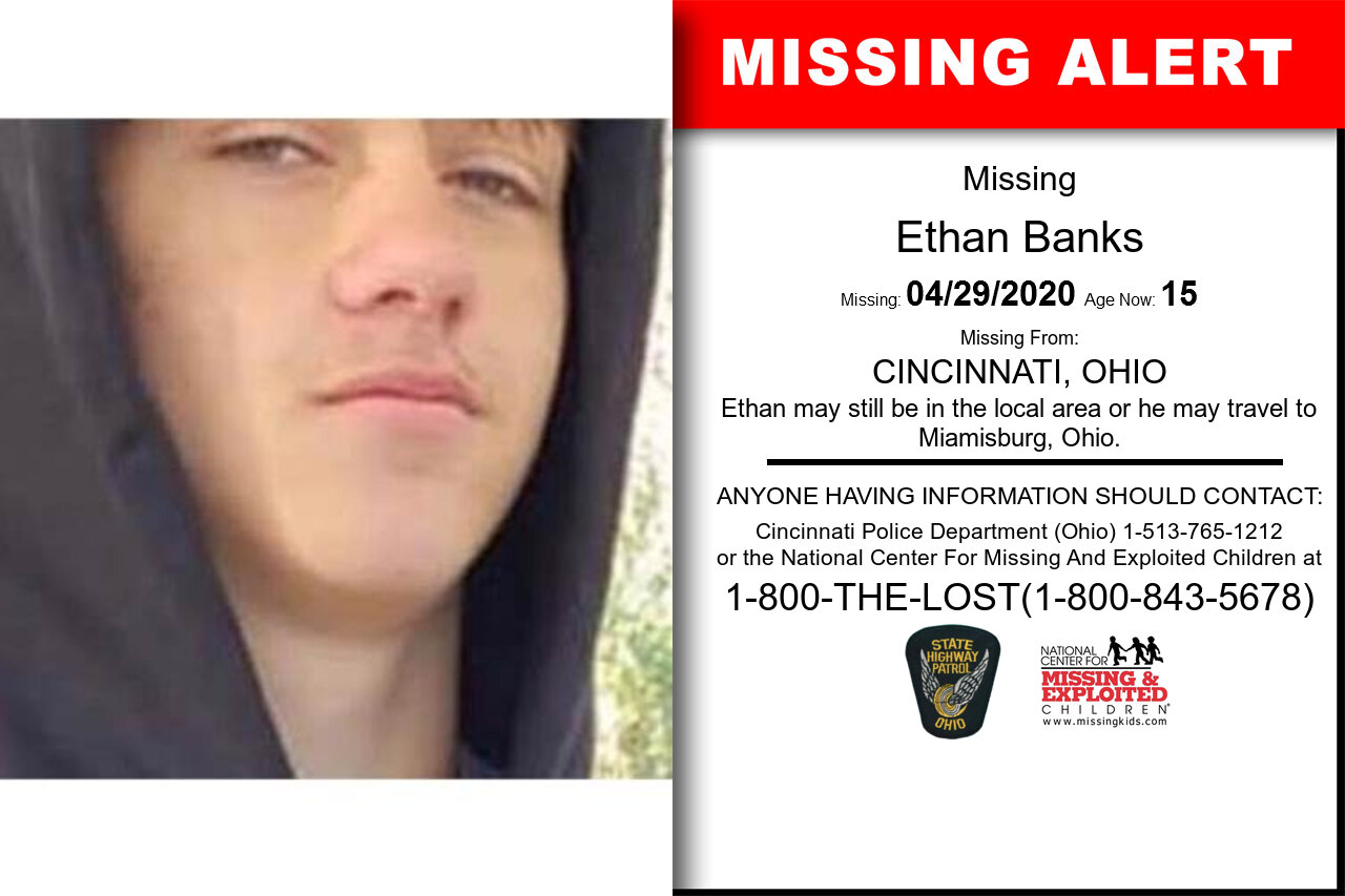 Ethan_Banks missing in Ohio