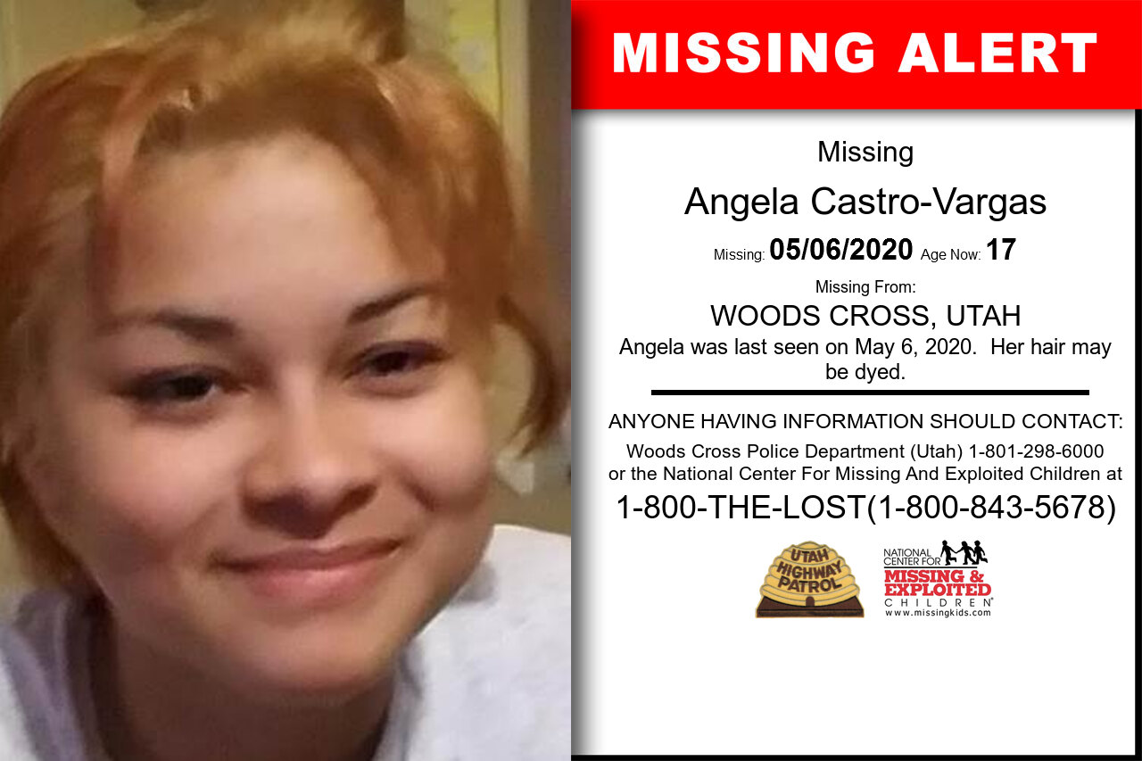 Angela_Castro-Vargas missing in Utah