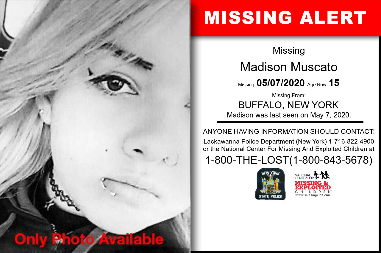 Madison_Muscato missing in New_York
