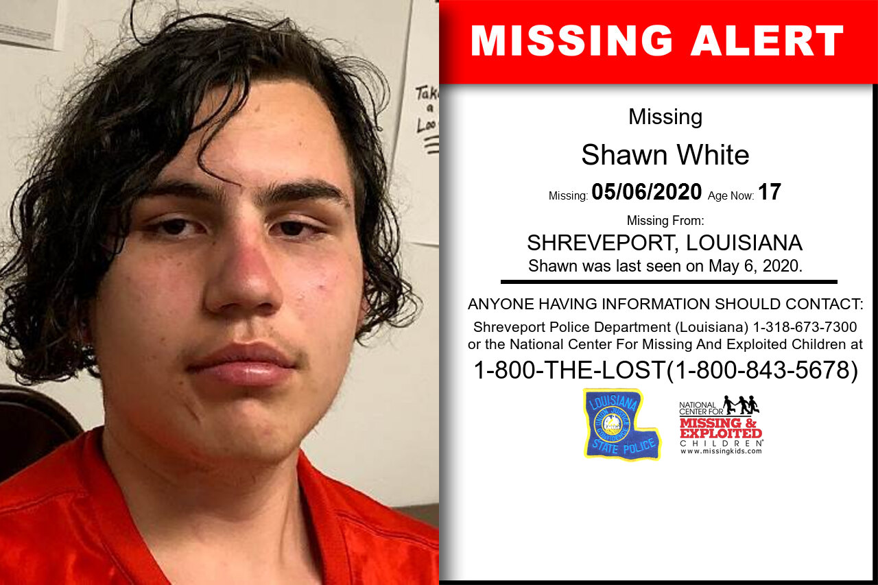 Shawn_White missing in Louisiana