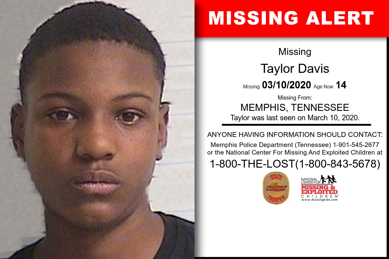 Taylor_Davis missing in Tennessee