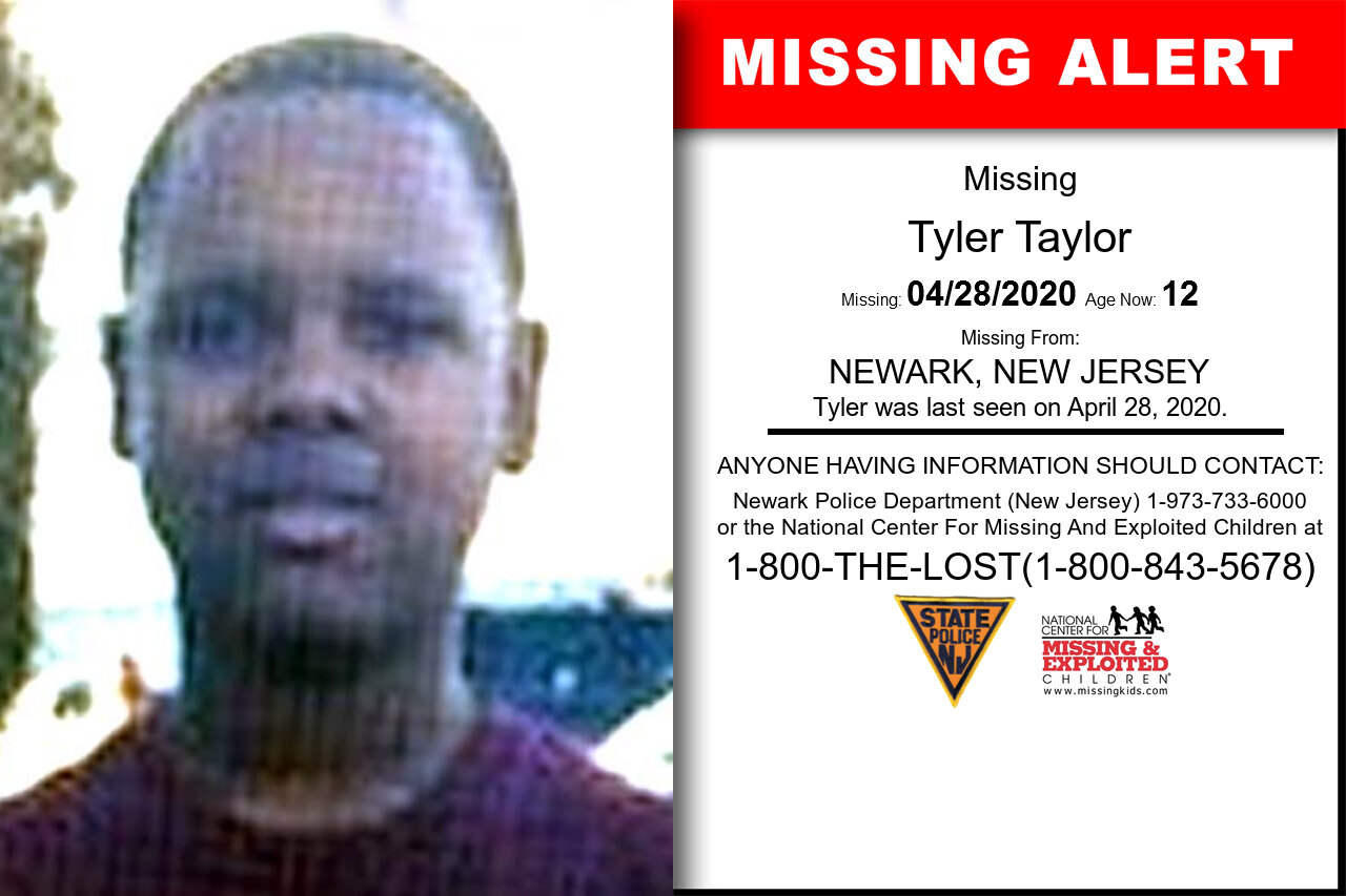 Tyler_Taylor missing in New_Jersey