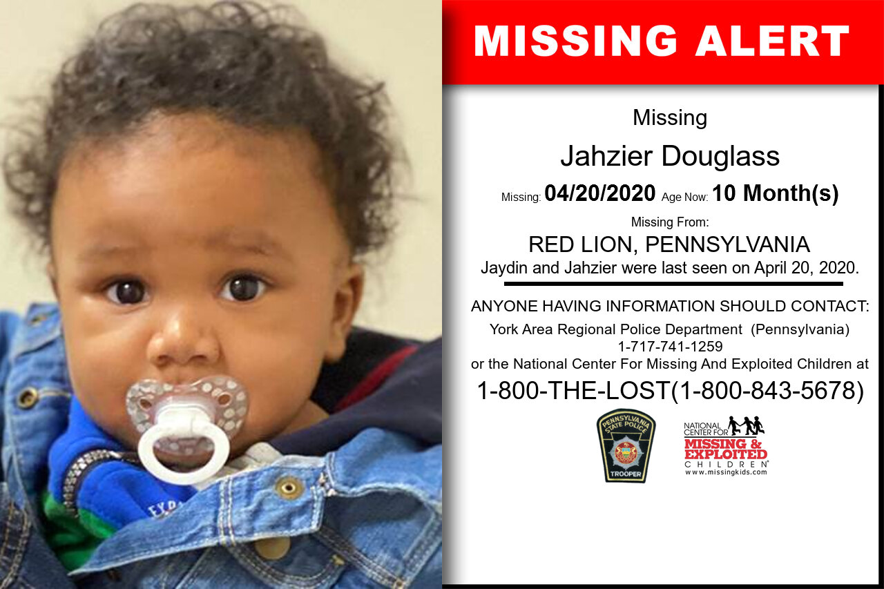 Jahzier_Douglass missing in Pennsylvania