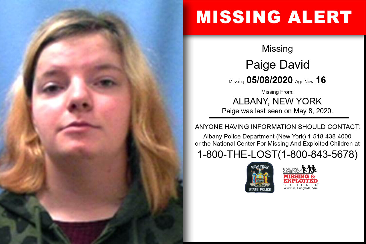 Paige_David missing in New_York
