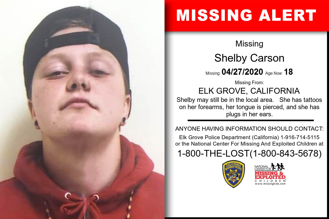 Shelby_Carson missing in California