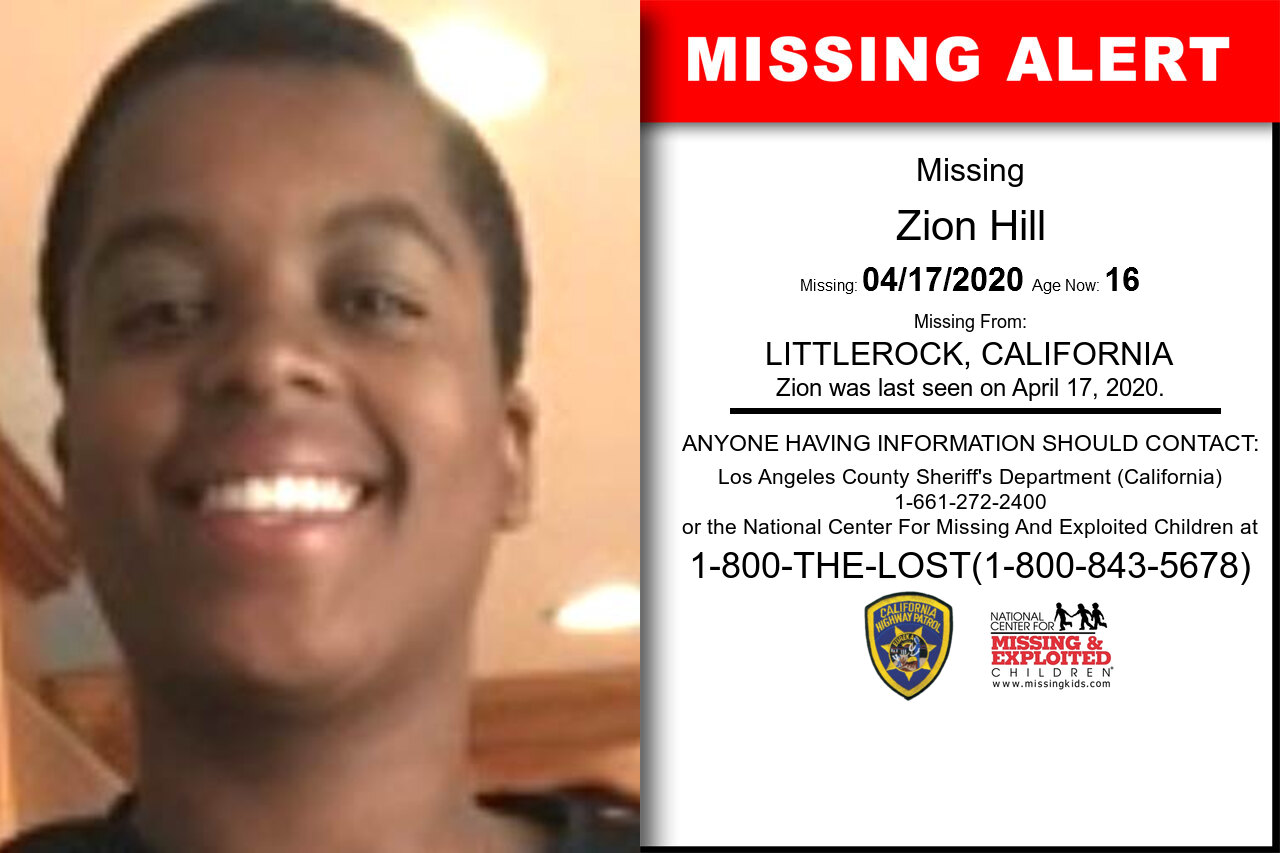 Zion_Hill missing in California