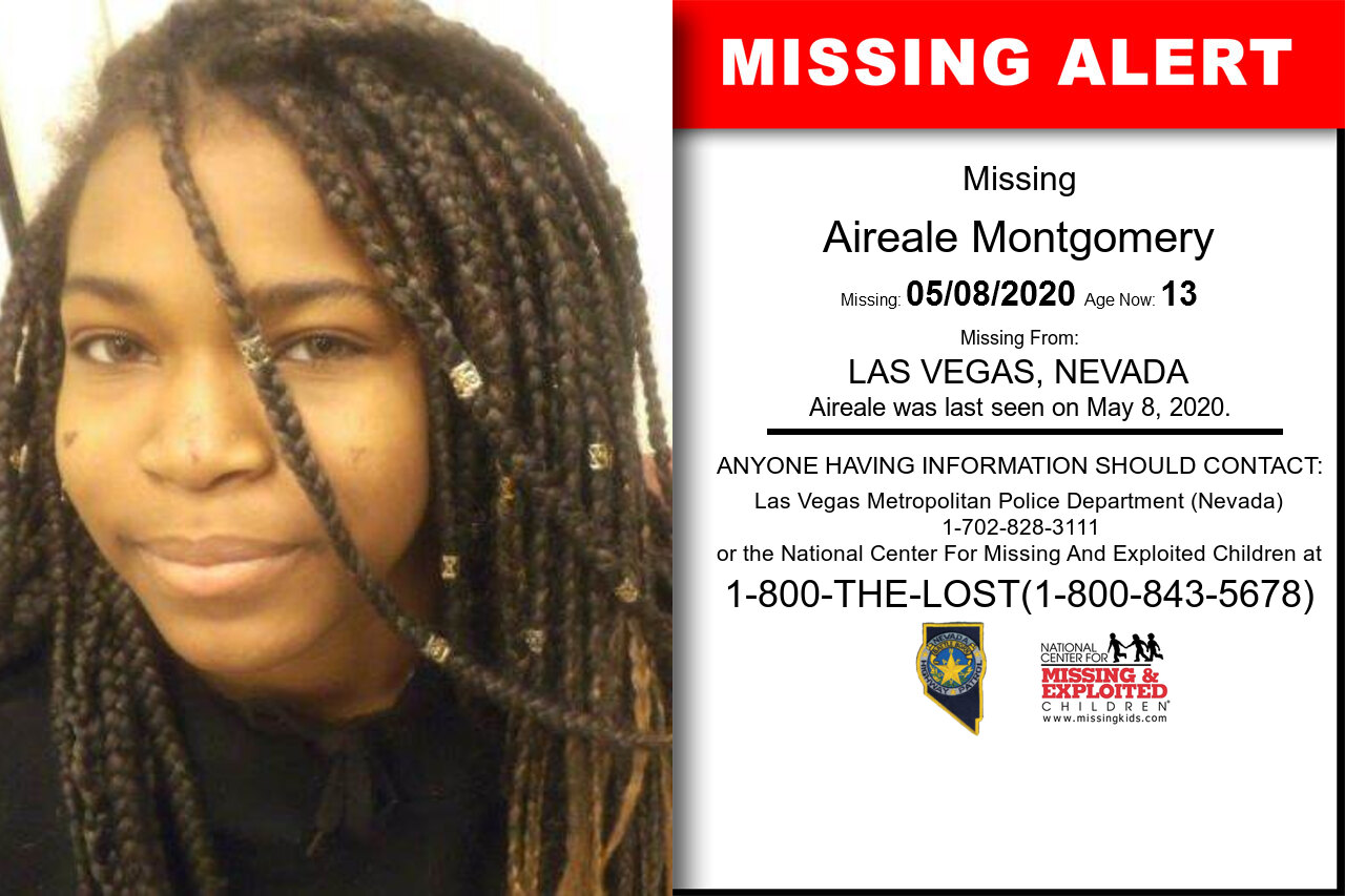 Aireale_Montgomery missing in Nevada