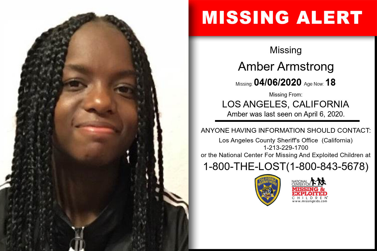 Amber_Armstrong missing in California