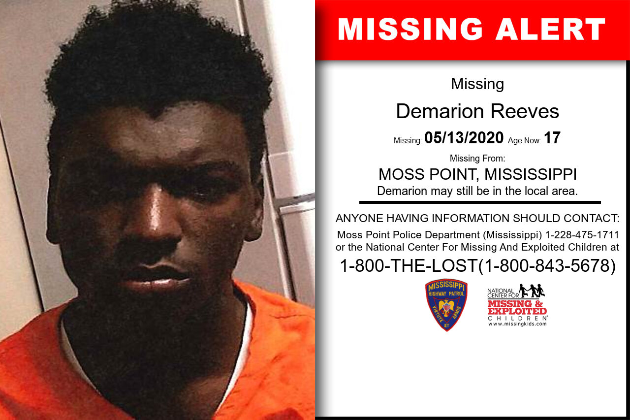 Demarion_Reeves missing in Mississippi