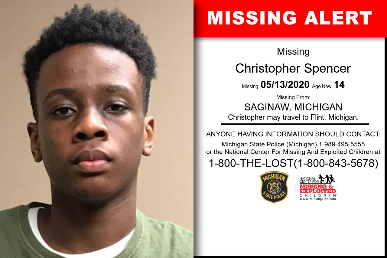 Christopher_Spencer missing in Michigan