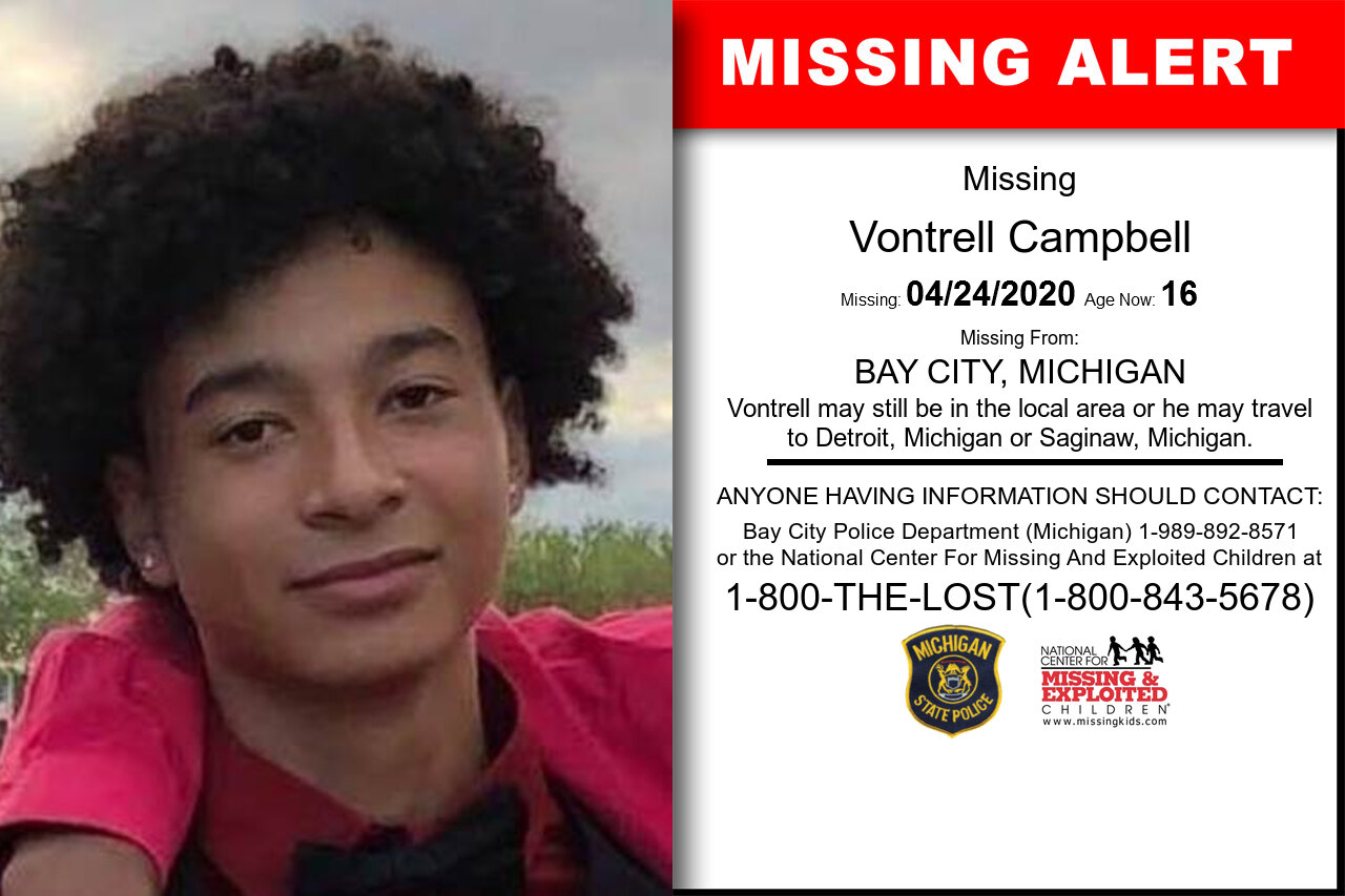 Vontrell_Campbell missing in Michigan