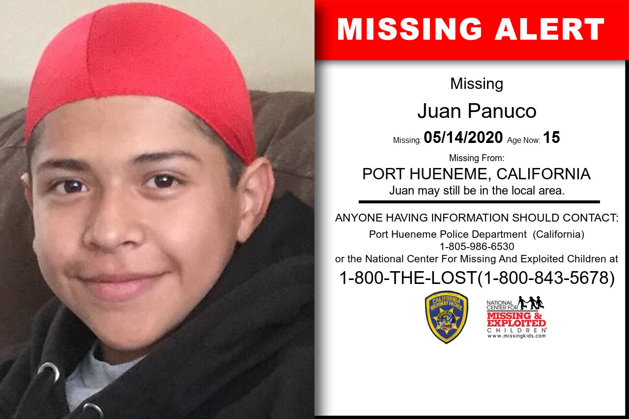 Juan_Panuco missing in California