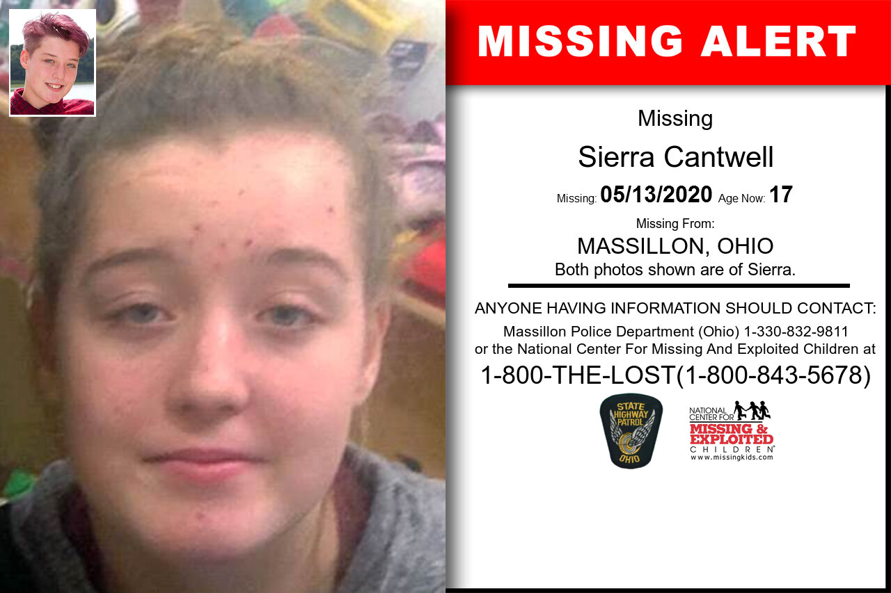 Sierra_Cantwell missing in Ohio