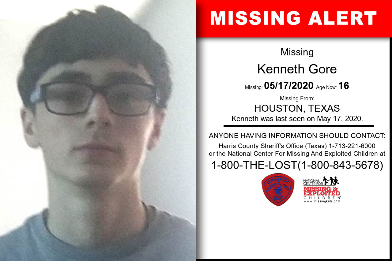 Kenneth_Gore missing in Texas