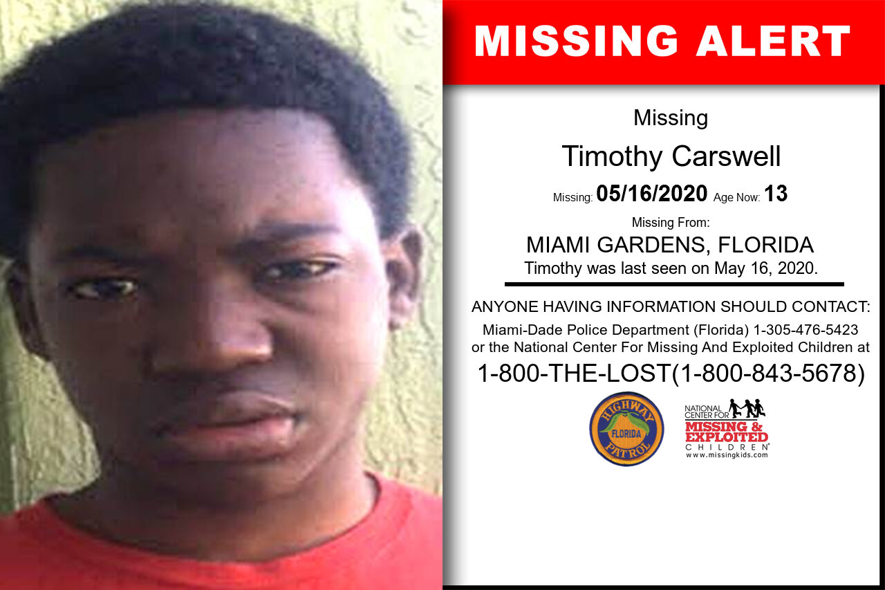 Timothy_Carswell missing in Florida