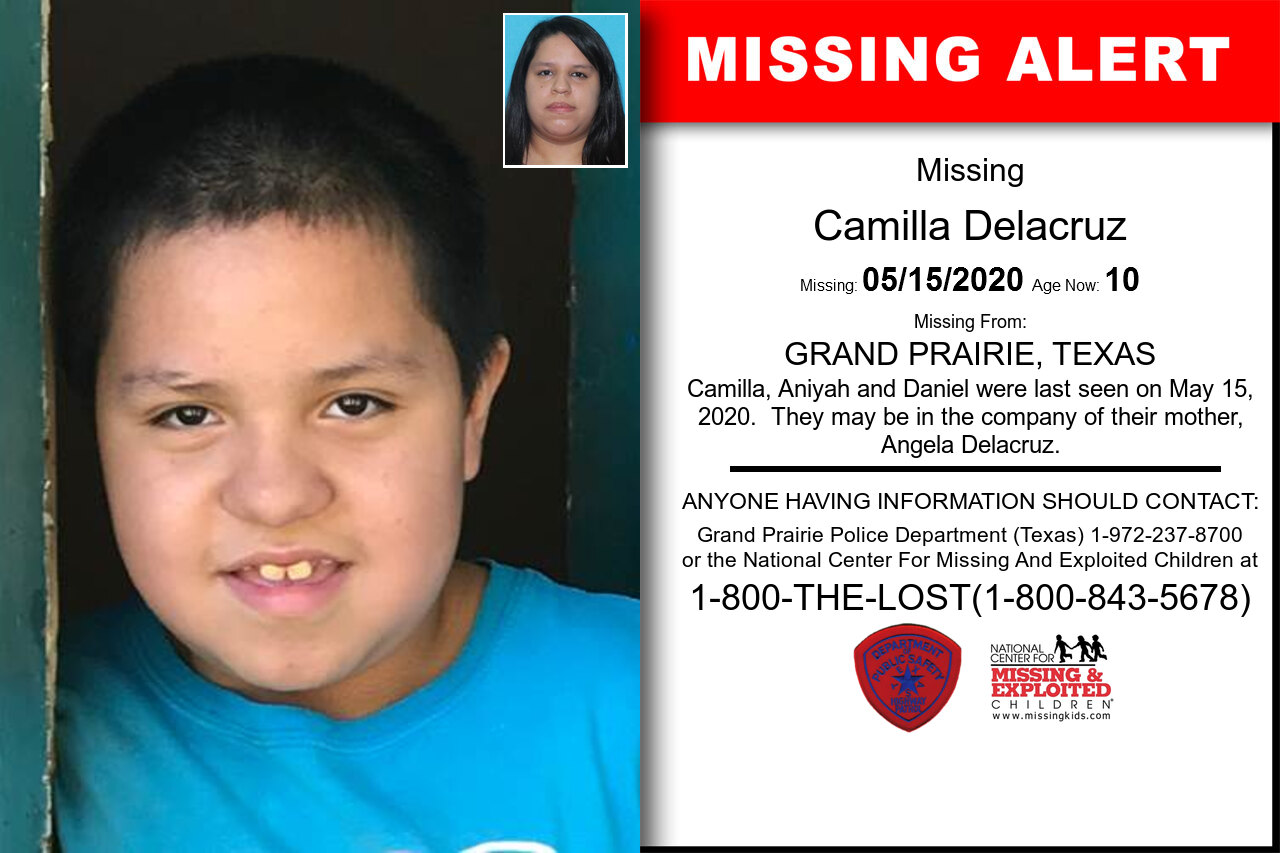 Camilla_Delacruz missing in Texas