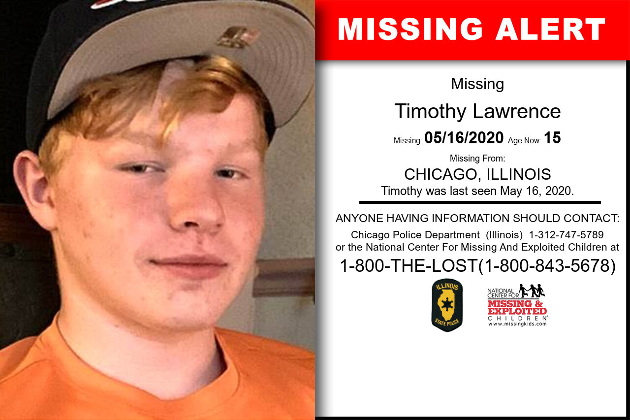 Timothy_Lawrence missing in Illinois