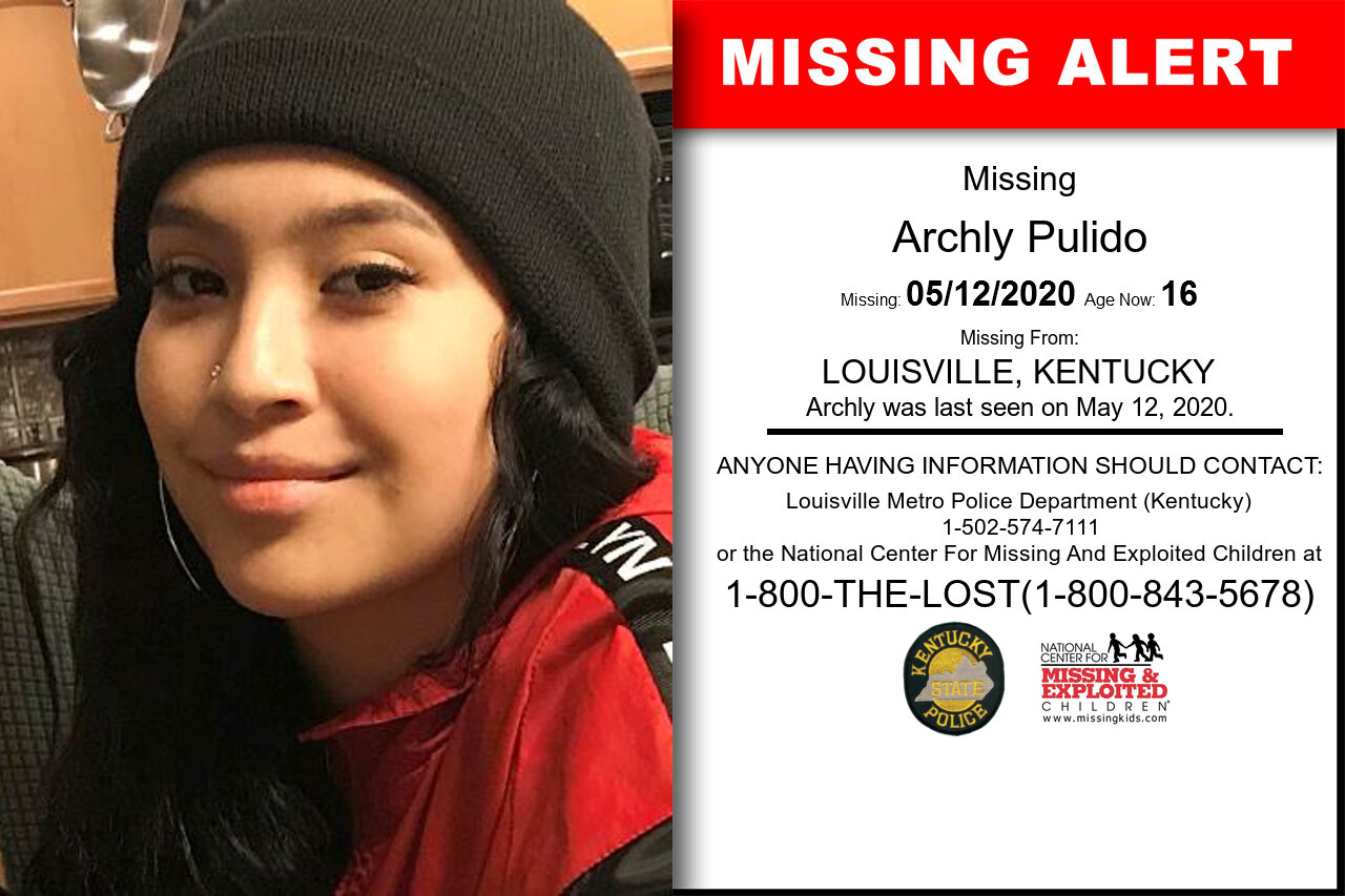 Archly_Pulido missing in Kentucky