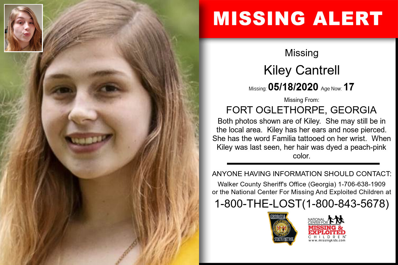 Kiley_Cantrell missing in Georgia