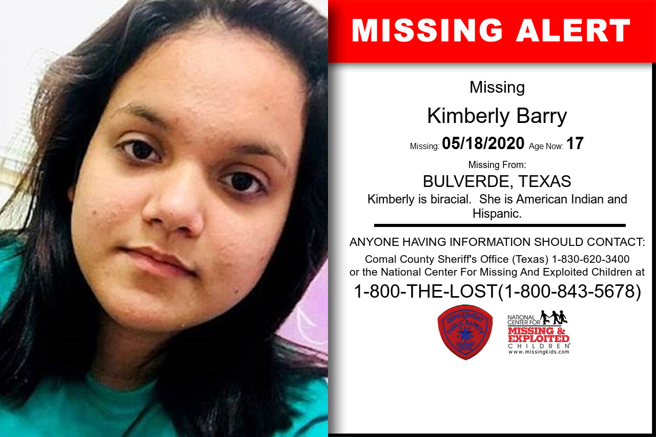 Kimberly_Barry missing in Texas
