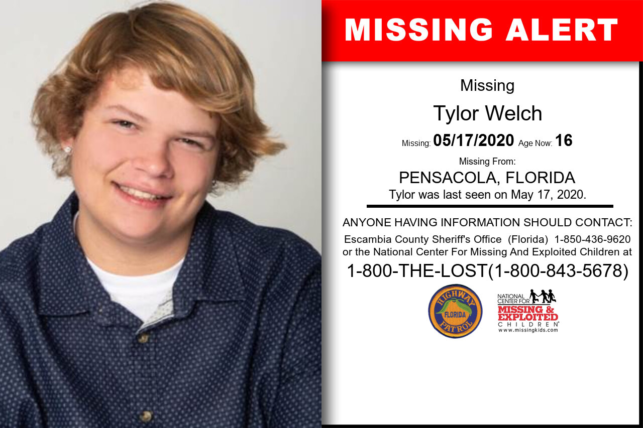 Tylor_Welch missing in Florida
