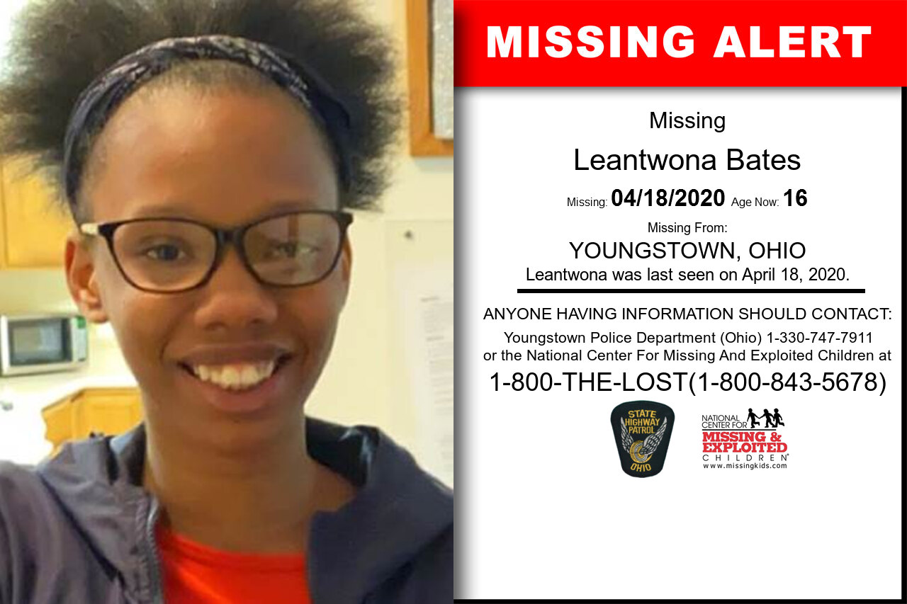 Leantwona_Bates missing in Ohio