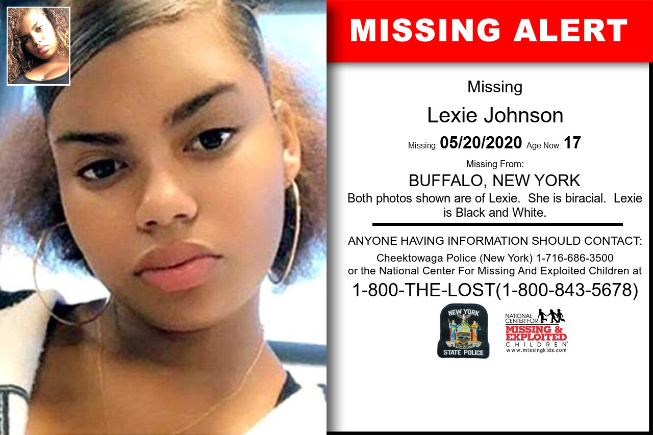 Lexie_Johnson missing in New_York