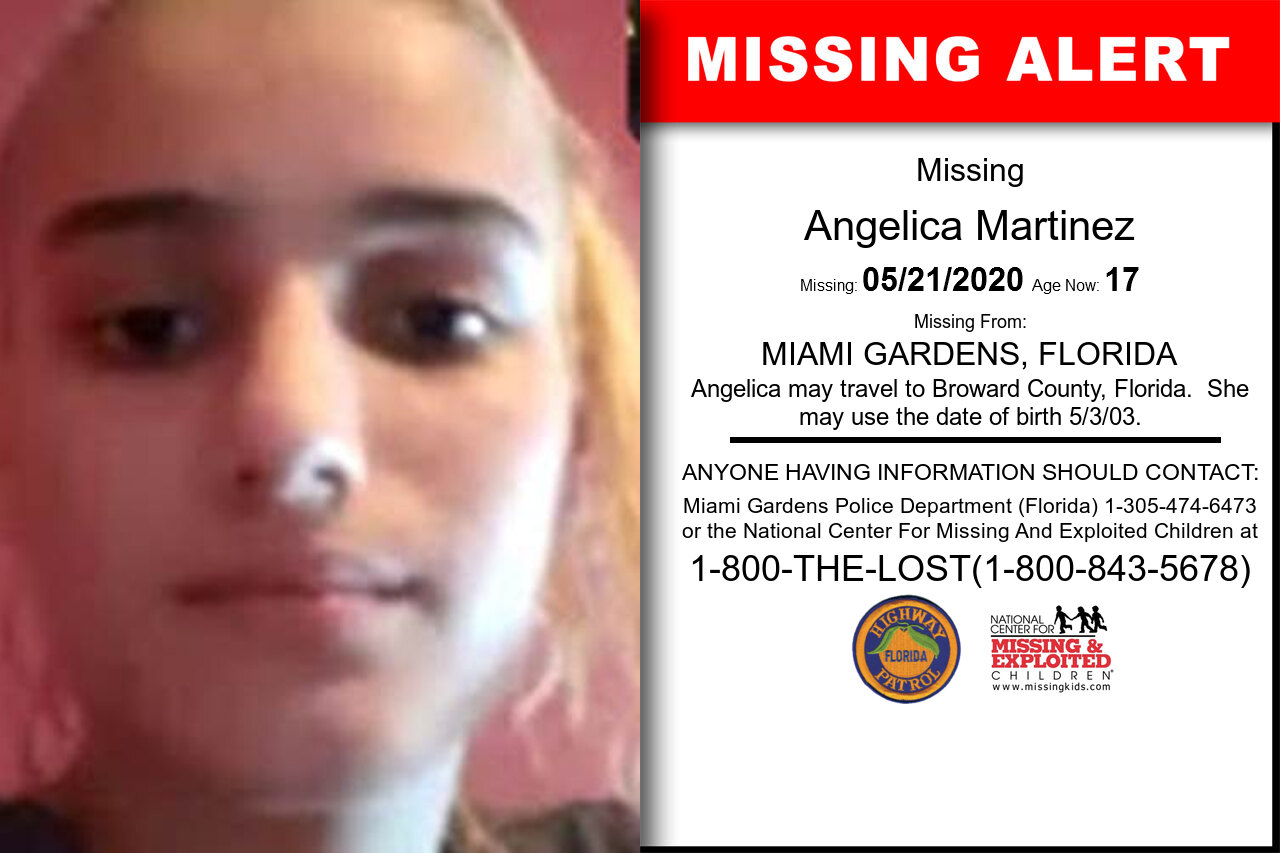 Angelica_Martinez missing in Florida