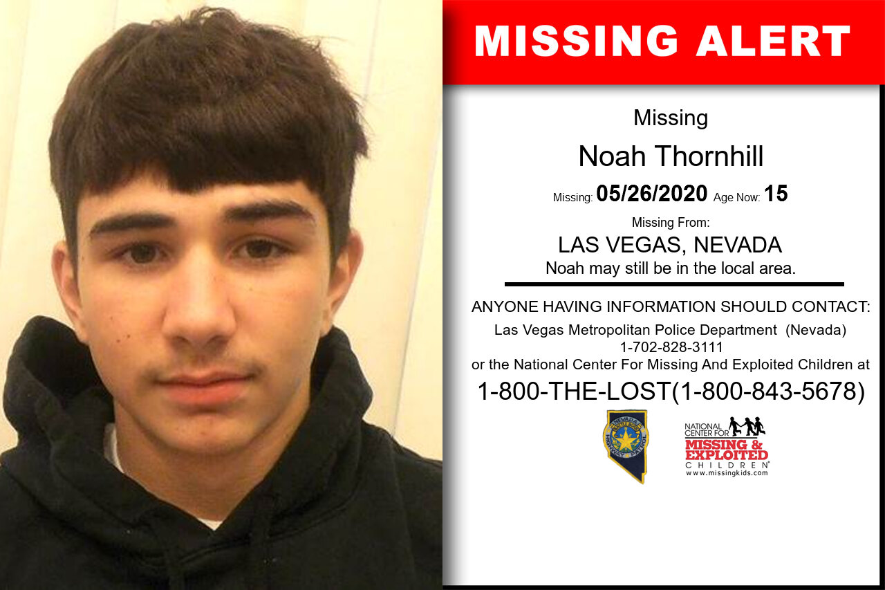 Noah_Thornhill missing in Nevada