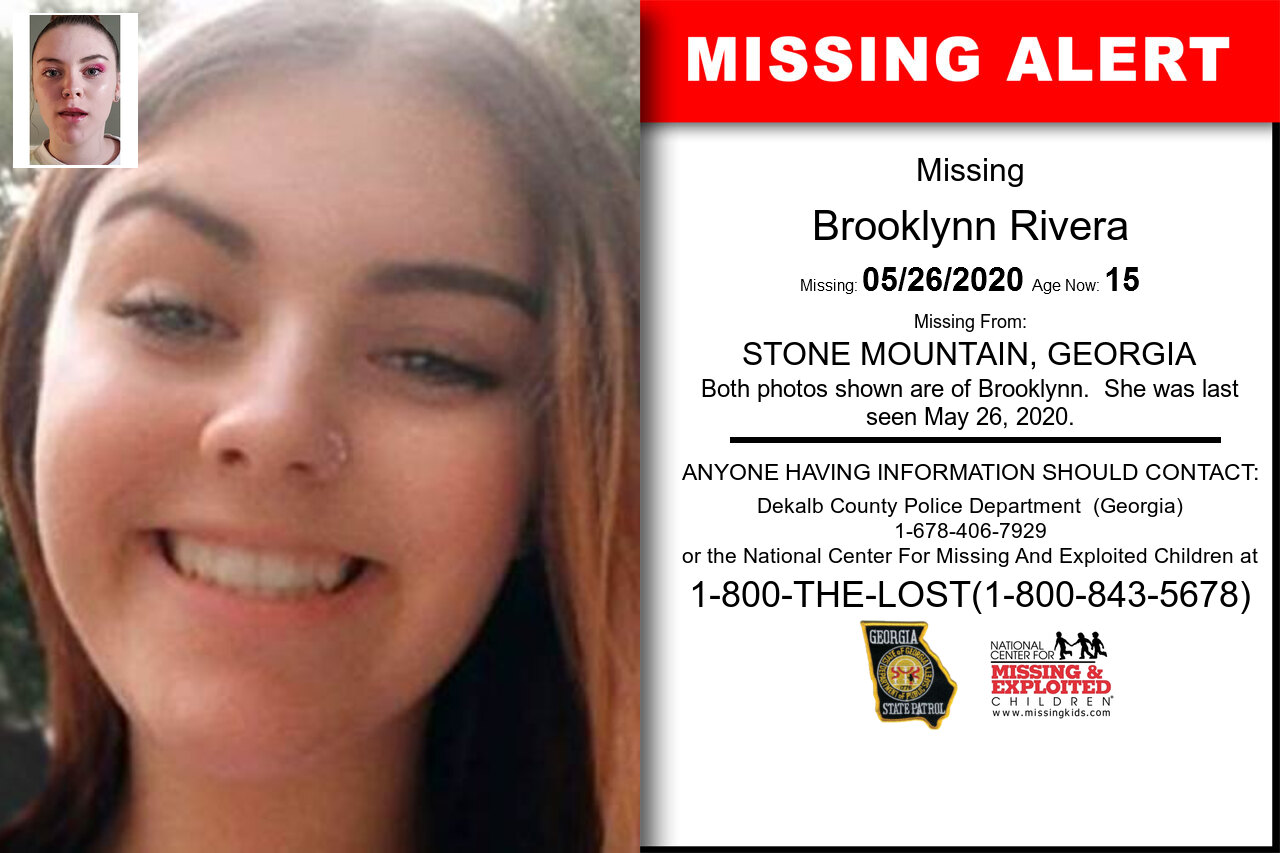 Brooklynn_Rivera missing in Georgia