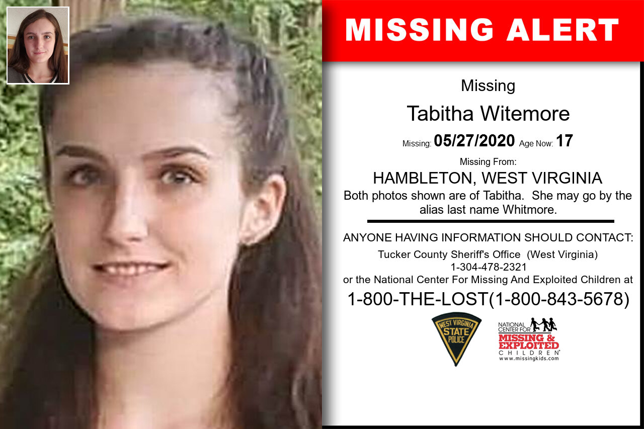 Tabitha_Witemore missing in West_Virginia